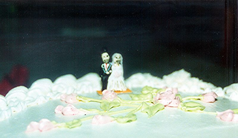 Bride and Groom Skeleton